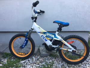 Children's bike 14'wheels CCM from Canadian Tire