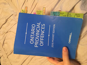 Ontario Provincial Offences pocket edition 2015