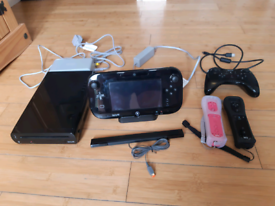 Wii U 32gb with 14 games, 2 remotes & Pro controller