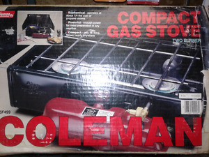 Coleman compact gas stove
