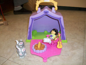 Fisher Price tent playset