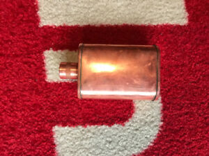 Jacob Bromwell Authentic Copper Flask Vermonter Hand Made