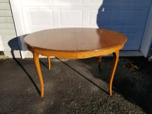 Table shabby chic provençal bois massif