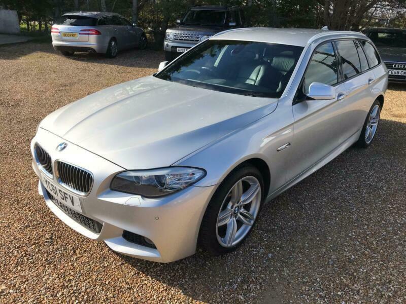 2011 BMW 5 Series 525D M SPORT TOURING Auto Estate Diesel Automatic