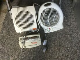 Heaters and mini shredder