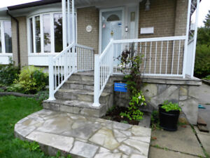Two bedroom house for rent at Winston Churchill and QEW