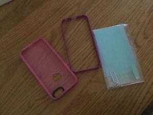 2 cover pour iPhone 5s et protecteur écran