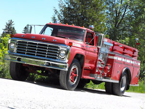 1973 Ford F700 Fire Truck - CERTIFIED