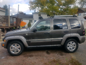 2 2006 Jeep Liberty Renegade For Sale