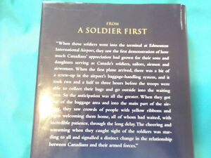 BOOK SIGNED BY GENERAL RICK HILLIER CANADIAN DEFENSE Cornwall Ontario image 3