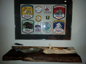"""1960""""s Arctic Weather Station Crests"""