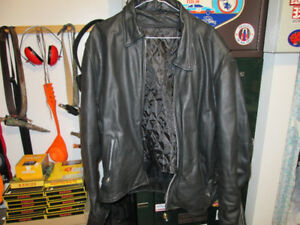 LEATHER MOTOR CYCLE JACKET