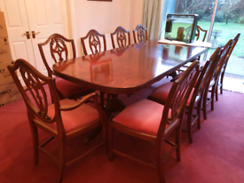 Cabinets/Sideboards/Dining Table&Chairs/Coffee Table. Full Set of 9pc