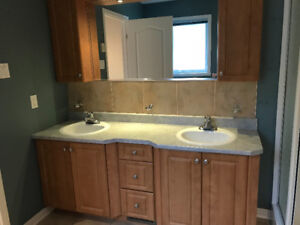 Double sink vanity for sale