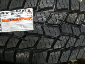 LT275/70R18 NEW COOPER TERRA TRAC AT ON SALE $225.00 EACH