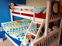 Double/single bunk beds
