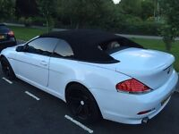 BMW 645ci 2005 convertible white one of a kind Reduced!! £6,750