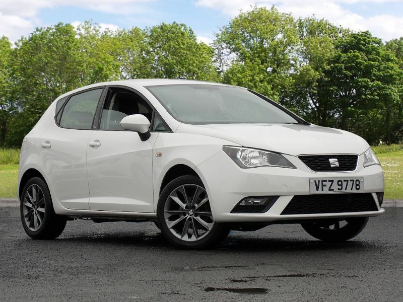 seat ibiza 1 2 tsi i tech 5dr white 2015 in castlereagh belfast gumtree. Black Bedroom Furniture Sets. Home Design Ideas