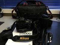 Nikon D5000 camera bundle
