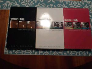 Queer As Folk novels 1-3 - excellent condition