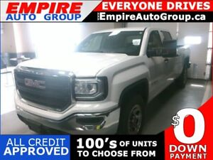 2016 GMC SIERRA BACK-UP CAMERA*BED LINER*BLUETOOTH CONNECTIVITY