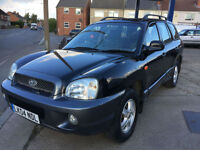 2004 Hyundai Santa Fe diesel automatic 105,000 miles, last owner 5 years LEATHER