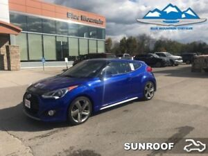 2013 Hyundai Veloster TURBO  - Sunroof -  Heated Seats