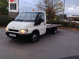 Ford transit recovery truck 350 2.4 LOW MILES under 95 thousand