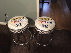NASCAR racing bar stools