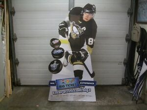"""SIDNEY CROSBY"" STANDEE  (2008)"
