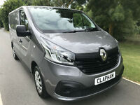 2015 15 RENAULT TRAFIC SL27 BUSINESS+ 1.6DCI 115BHP GREY AIR CON 1 OWNER