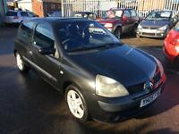 Renault Clio 1.2 16v Dynamique 2005 LOW MILES ONLY 67K & MARCH 17 MOT