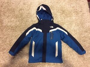 Boys North Face Boundary TriClimate Jacket size Small (7/8)