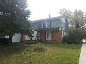 2 storey house on Chancellor close to U of M for rent