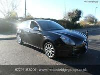 ALFA ROMEO GIULIETTA JTDM-2 VELOCE F.S.H Low Miles Stunning Car, Black, Manual,