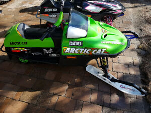 Race Modified Arctic Cat 120's Kids sleds $3800 Each.
