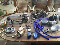 Classic Mini Spares - subframes, maniflow, new loom, koni shocks, adjustable suspension ++++