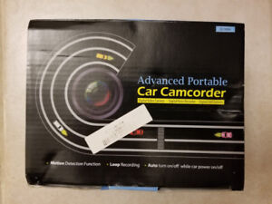 G1WH Advanced Portable Car Camcorder