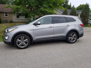 2013 Hyundai Santa Fe xl limited NAV,B-TOOTH,LEATHER,PANO ROOF!!