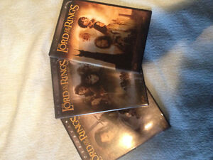 3 DVDs Lord of the Rings