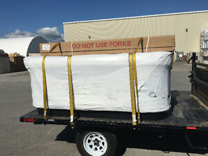 Hot tub moving & disposal new or used call the hot tub pros