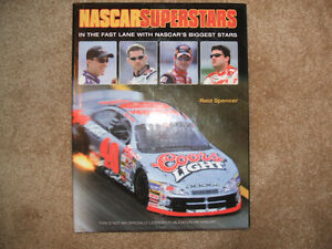 Nascar Superstars book-Excellent condition-HC