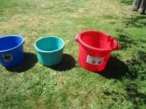 3 Storage Tubs--great for toys, etc! 76L and 52L