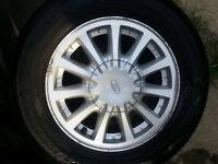"EXCELLENT SET 4 Factory 15"" Rims FORD Van WINSTAR With SEMINEW 2"