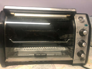 Black and decker countertop convection oven (60$)