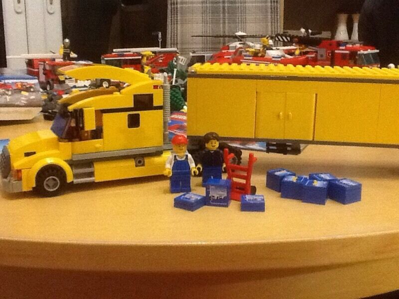 Lego City 3221 Truck 100 Complete Box And Instructions In