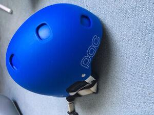 POC Blue helmet