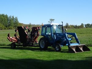 Tractor and 20 foot Allied Grass Cutter Kawartha Lakes Peterborough Area image 1