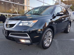 2012 Acura MDX Elite w/ rear entertainment, 7 seats