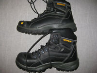 BRAND NEW PREMIUM Men's CAT Size 8 Wide Steel Toe Work Boots